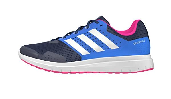 the latest 44837 3aabe adidas Duramo 7 W, Chaussures de Running Entrainement Mixte Adulte, Bleu (Bleu  Marine Collégial Blanc Footwear Bleu Impact), 45 1 3 EU  Amazon.fr  ...