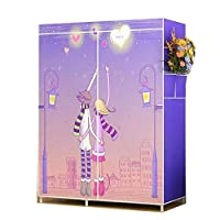 QQA Modular Cabinet for Space Saving, Ideal Storage Organizer Cube Closet for Books, Toys, Towels