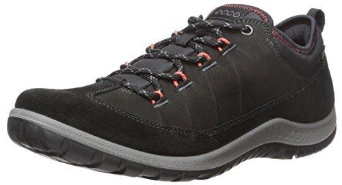 Ecco Damen ASPINA Outdoor Fitnessschuhe, Schwarz (BLACK/BLACK51052), 38 EU