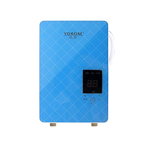 TuToy 220V 50Hz 4.8Kw Instant Electric Water Heater Heating Tools Tankless Shower Screen Touch Hot Water System Set Touch-screen-tools