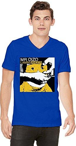Preisvergleich Produktbild Mr Oizo Lambs Anger Mens V-neck T-shirt Small