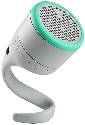 Boom Swimmer JR - Altavoz con Bluetooth, Resistente al Agua, Color Gris y Menta