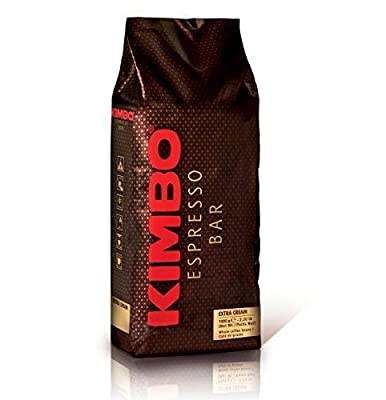 Kimbo Coffee Beans Extra Cream 1kg by Kimbo