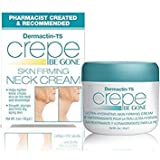 Dermactin-Ts Crepe Be Gone Firming Neck Cream 3 Oz. - Anti Aging Wrinkle