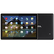 BEISTA Tablet de 10.1 Pulgadas (WiFi,Quad-Core,Android 5.1 Lollipop,HD IPS 1280x800,Doble Cámara,Doble Sim,OTG,GPS)- Color Negro