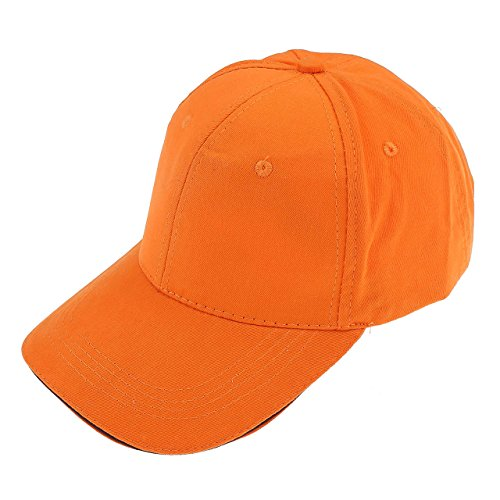 Ayliss® Damen Herren Schirmmütze Sport Mütze kappe Basecap Cappy Golf Baseball Cap Top (Orange) (Baseball Mütze Orange)