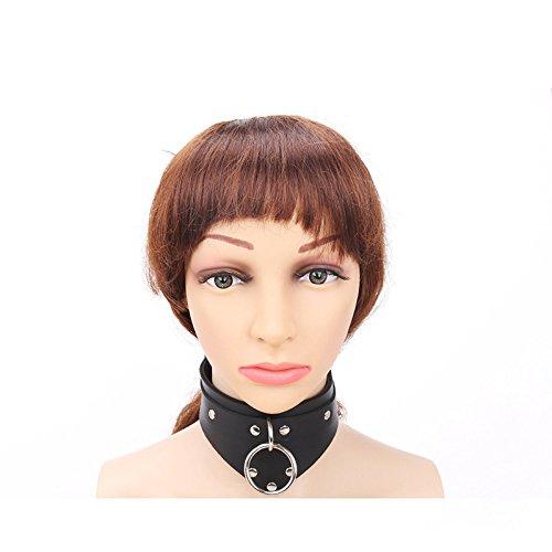 LIUZHI Fun Kragen Trolle Kragen, gebunden gebunden, Flirt Spielzeug, Tuning-Tools , Black (Troll Kostüm Männlich)