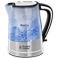 Russell Hobbs 22851 BRITA Filter Purity Kettle, 3000 W, 1 Litre, Transparent