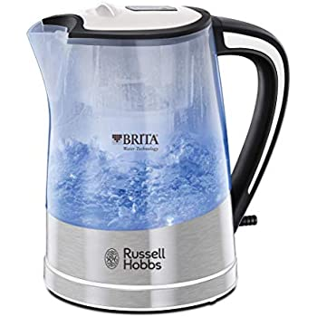 Russell Hobbs 22851 BRITA Filter Purity Kettle, 3000 W, 1 Litre, Transparent