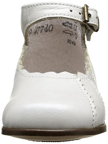 Little Mary Vladys, Chaussures Premiers pas bébé fille Blanc (Apache Blanc)