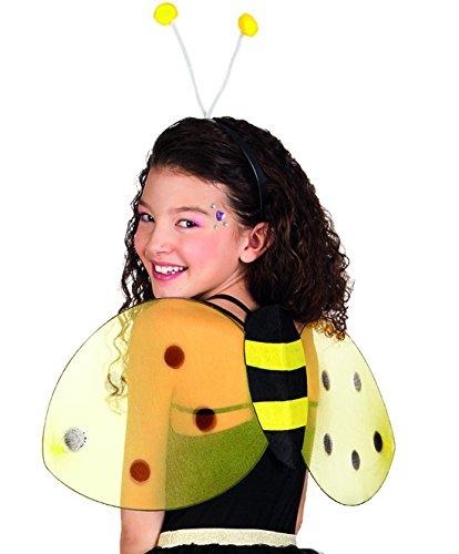 erdbeerclown- Käferflügel Flügelchen Kostüm Insekt, (Moderne Kostüm Cinderella Halloween)
