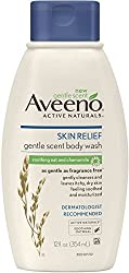 AVEENO Active Naturals Skin Relief Gentle Scent Body WashSoothing Oat and Chamomile 12 oz