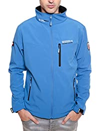 Geographical Norway TOWER MEN Anorak Chaqueta Azul para Hombre Dry Tech 4000