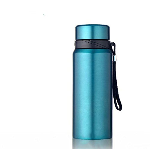 DONG Masse/Isolierung/Mobile/Portable/Seil/04 Edelstahl/Glas , blue , 1000ml