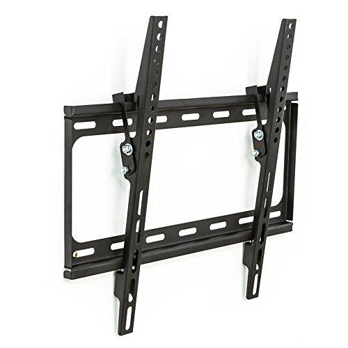 TecTake 401193 TV Wandhalterung VESA max 400x400 für 81cm (32 Zoll) bis 140cm (55 Zoll)