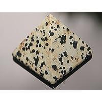 Dalmatiner Jaspis 35mm Edelstein Pyramide in Geschenk Tüte preisvergleich bei billige-tabletten.eu