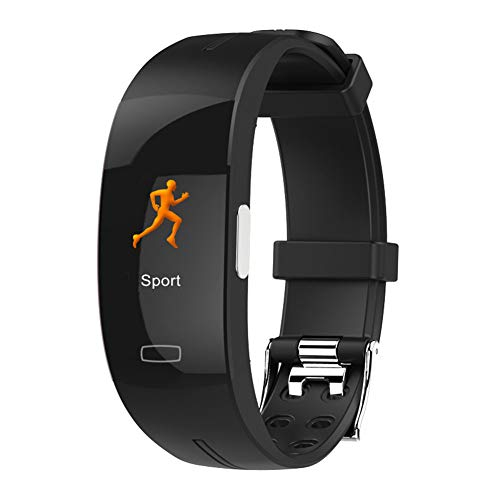 XMYL Fitness Tracker,ECG+PPG Multifunktional Bluetooth Smart Watch Uhr IP67 Wasserdicht Farbbildschirm Aktivitätstracker für Samsung Huawei Android IOS Smartphone,D