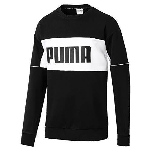 PUMA Archive Herren Retro Sweatshirt Puma Black L - Retro-sweatshirt