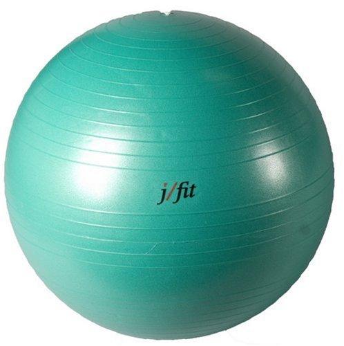 J-FIT Gymnastikball, platzfest, 45 cm, Jade Green - 75cm, 75 cm
