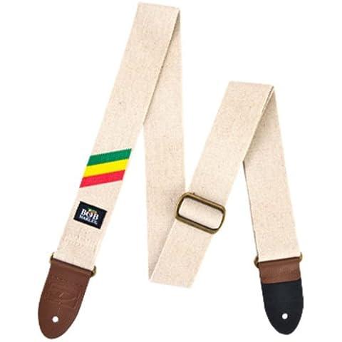 Jim Dunlop Bob Marley-Tracolla per chitarra, motivo a Zig-Zag