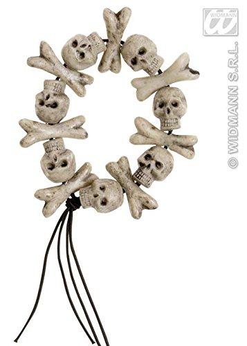 Halloween Skelett Armband (Kostüm Mann Voodoo)