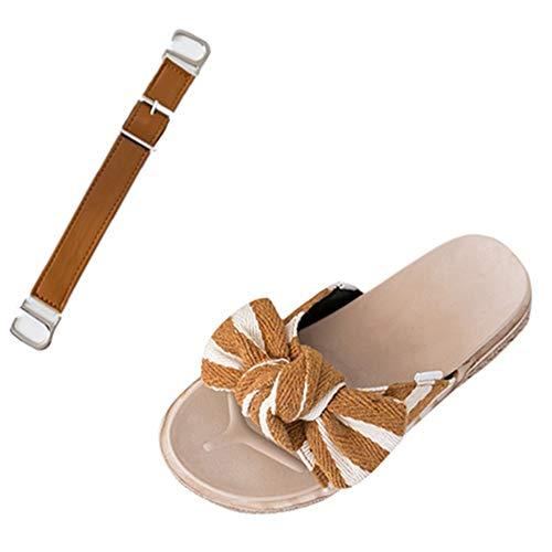 uhe Sandalen Dual Use DIY Schuhe Damen Mädchen Muffin Mit Sandalen Sommer Slip on Loafer Wohnungen Bogen Freizeitschuhe ()