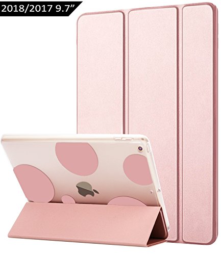 Dailylux iPad 2017 Hülle, iPad 2018 Hülle, Bubble Rose Gold, Apple New iPad 9.7 inch 2017 2018