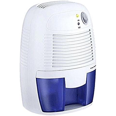 Hysure 500ml Portátil Mini Deshumidificador Dehumidifier Humedad Eliminador de cocina húmedo, Dormitorio, Caravana, Office y garaje, etc.