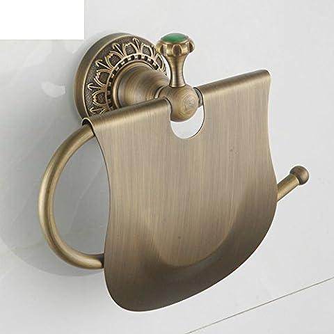 Europa creativa Portarrollos/Toallero vintage/ titular de papel higiénico de baño/Estante de toalla del cuarto de