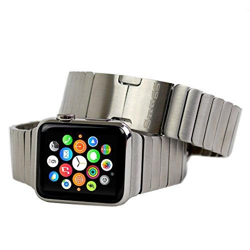 Bracciale a Magglie Apple Watch, Snugg™ - Cinturino da Polso in Acciaio Inossidabile (38mm) con Garanzia a Vita per Apple Watch 1 & 2