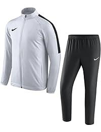 Nike academy18Tracksuit Chándal, todo el año, hombre, color Blanco, negro, tamaño large