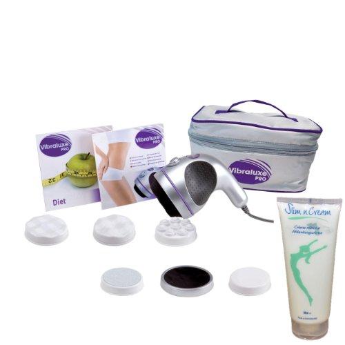 Masseur électrique Vibraluxe PRO + Crème Slim & Cream