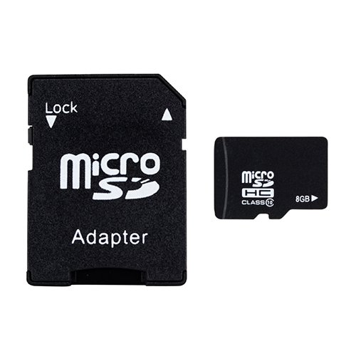 abergbest Ultra 8GB MicroSD Flash Media Kit (1 Microsd-media-kit)