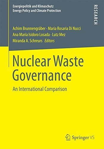 Nuclear Waste Governance (Energiepolitik und Klimaschutz. Energy Policy and Climate Protection)