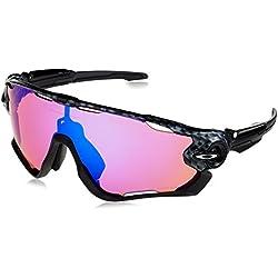 Oakley Jawbreaker, Gafas de Sol para Hombre, Carbon Fiber, 31