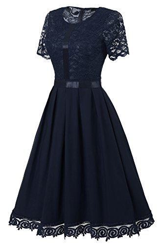 Gigileer -  Vestito  - Donna blu navy