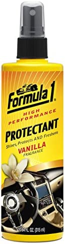 Formula 1 Fragranced Car Interior Protectant Vanilla, 10.64-Ounce, 615044, H5.6 x W21.2 x D5.2 cm