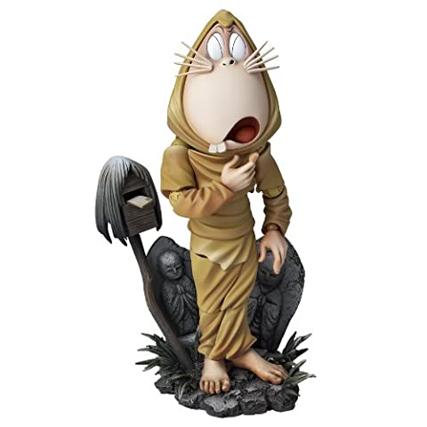 No Kitaro three-dimensional picture scroll SERIES No.008 Rat man of Revoltech Takeya Gegege no (japan import)