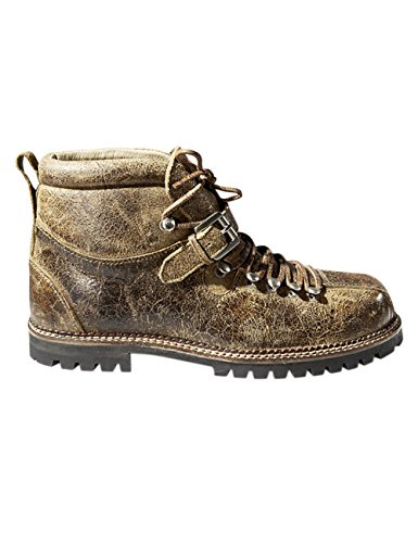 Stockerpoint Schuh 4445, Herren Kurzschaft Stiefel, Braun (tabak gespeckt), 45 EU