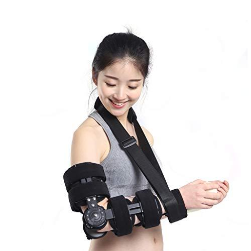 Supporto per frattura del Braccio, immobilizzatore del Gomito, tutore del Gomito con Gomito, stabilizzatore del Gomito Regolabile Supporto per Il Recupero del ferito del Braccio Stecca Supporto