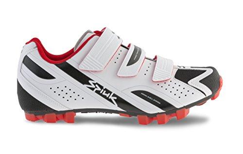 Spiuk Rocca MTB Chaussures de sport unisexe blanc/noir
