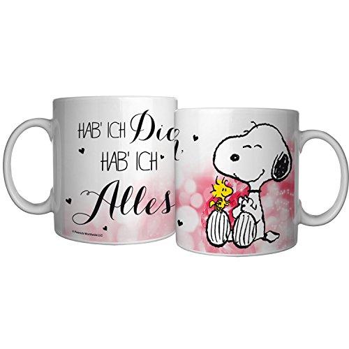 Peanuts Snoopy Collection - Tasse Hab ich Dich, hab ich Alles, 320 ml