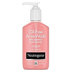 Neutrogena Oil- free Acne Wash Pink Grapefruit Facial Cleanser 177 mL