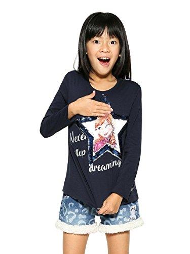 Desigual TS_Sacramento Camisa Manga Larga para Niñas