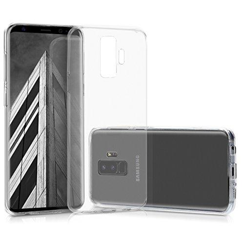 kwmobile Étui TPU silicone élégant et sobre pour Samsung Galaxy S9 Plus en couleur souhaitée