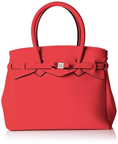 399eac3d109f SAVE MY BAG Mujer 20204N Bolso de hombro Rojo Size: 34x29x18 cm (W x H x L)