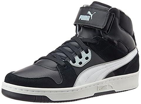 Puma Puma Rebound Street SD, Unisex-Erwachsene Sneakers, Schwarz (black-white-quarry 11), 40.5 EU (7 Erwachsene