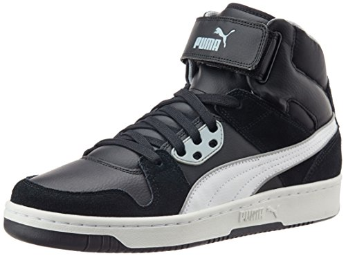 Puma Rebound Street 358237/08, Baskets mode homme Noir (Black/White/Quarry)