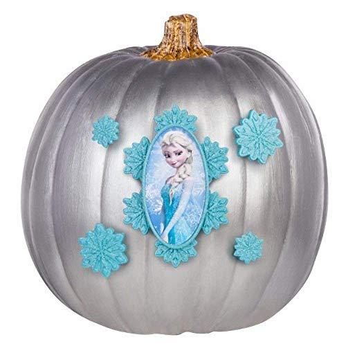 Gemmy Kürbis Pumpkin Dekoration Bastel Set Kürbis anmalen und dekorieren Disney Frozen Anna & ELSA