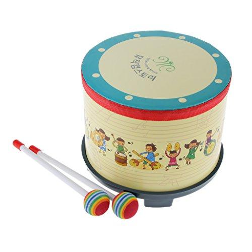 tambour-pour-enfant-w-pilons-colore-battu-jouet-cadeau